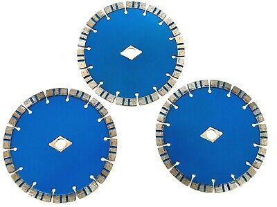 3 Segmented Diamond 7-14 Blade Fits Bosch Circular Saw Cut Concrete Paver Tile
