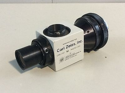 Carl Zeiss Urban Photo F250cine F107 Adapter Medical Lab Microscope Parts