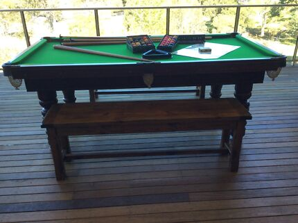 Pool Table Ideal Fathers Day Gift Horsley Wollongong Area Preview