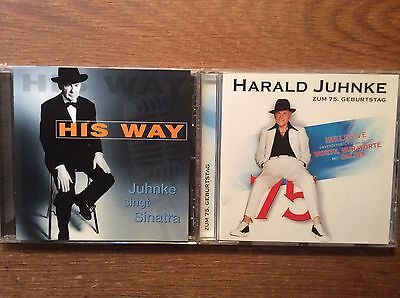 Geburtstag Singt (Harald Juhnke [2 CD Alben] Zum 75. Geburtstag + His Way - Juhnke Singt Sinatra)