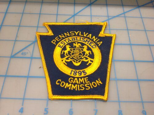 Vintage PENNSYLVANIA GAME Commission Embroidered Patch (P)