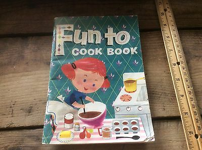 Fun To Cook Book, Beginners Cook Book , Child's ,