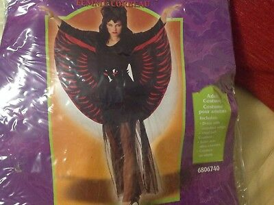 SALE Raven Lady Halloween Adult Costume - Sales Lady Kostüm
