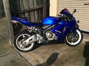 Blue Honda CBR 600 RR Delahey Brimbank Area Preview