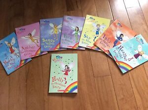 Rainbow Magic Series Children's Books WHOLE LOT OF 8 FOR $15