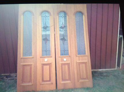 Lead light doors & doors in Burnie-Devonport Region TAS   Building Materials ...