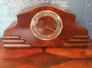 Antique Urgos Westminster Chime Mantle Clock Tivoli Ipswich City Preview