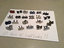 22 pairs of cufflinks - sell the lot- most not worn Booragoon Melville Area Preview