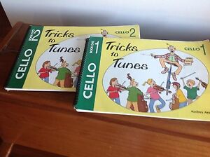 Cello Tricks to Tunes Book 1 & 2 Novar Gardens West Torrens Area Preview