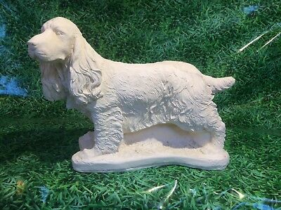 LATEX ONLY MOULD COCKER SPANIEL 45CM LONG ORNAMENT MOULD