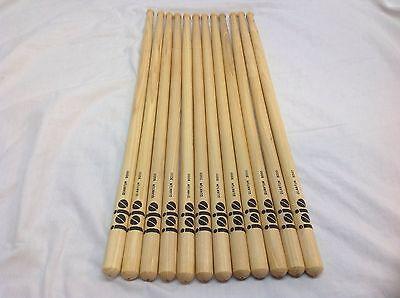 Regal Jojo Wood Tip Drum Sticks Model  Q9000 6 Pair Great Deal Brand New