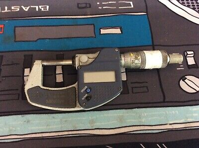 Mitutoyo Digital Micrometer 0-1 293-831-30 Needs Battery Used See Pics