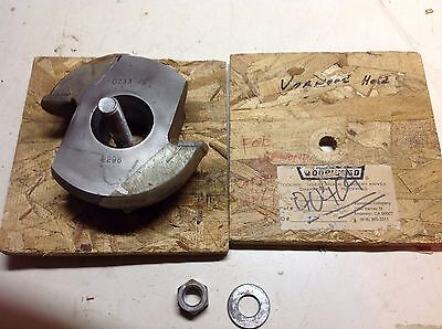 Shaper Cutter 1 14 Bore 1 12 High 4 12 Dia Moulder Cutter Head