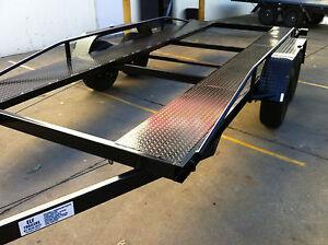 Car trailer tandem light weight 16x6 6ft 2t atm 14ft 15 12 for Ebay motors car trailers