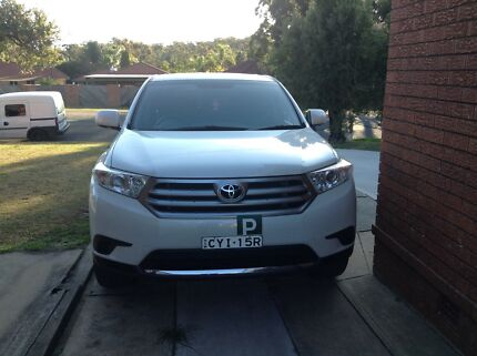 Toyota Kluger 2013 7 seater auto kxr Wakeley Fairfield Area Preview