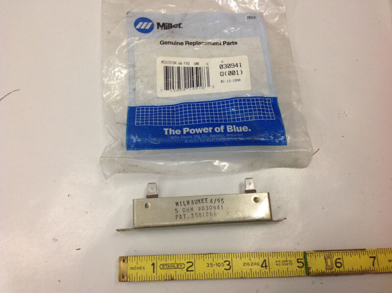 Miller Welder 030941 Resistor 5 Ohm.    NEW IN BAG