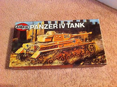 Airfix  1:76  WW II  Panzer IV Tank