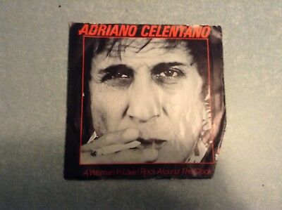 Disque vinyle 45 tours /adriano celentano,a woman in love