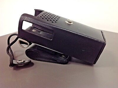Leather Holster with Swivel Metal Clip, for Motorola GP300 Model,  HLN9873A. Buy it now for 34.0