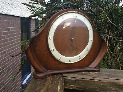 Smiths Mid-Century Besbale  Mantle Clock not working for restoration