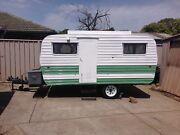 Caravan vintage retro poptop 12ft VG condition Melbourne CBD Melbourne City Preview