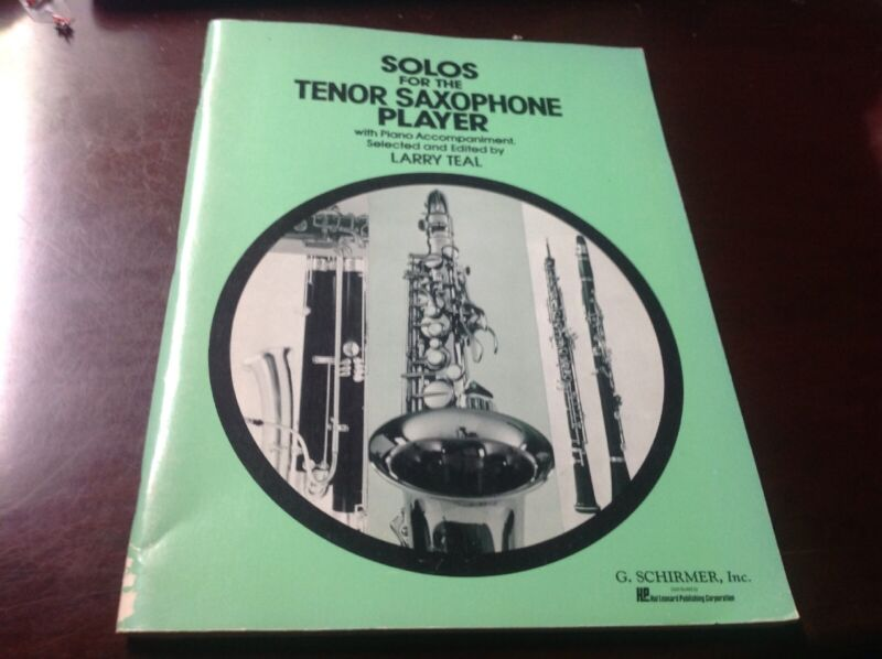 Solos for the Tenor Saxophone Player/Piano - Larry Teal - Classical Music 1965