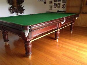 Billiard table, 10 x 5, ¾ inch Italian slate top. Mount Waverley Monash Area Preview