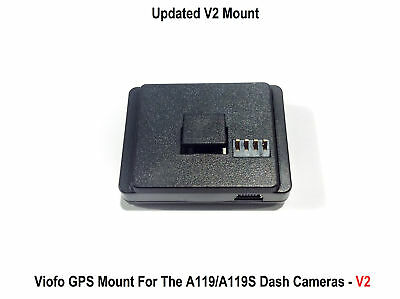 Viofo A119/A119S GPS Adhesive Mount - For V2 (Version 2) Cameras Only