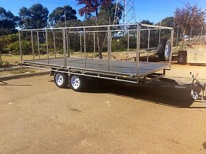 Custom flat top trailers all sizes by BTE Jandakot Cockburn Area Preview