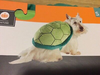 Turtle Shell Pet Costume S/M Small/Medium Rider Ninja Turtle Dog New Halloween](Turtle Pet Costume)