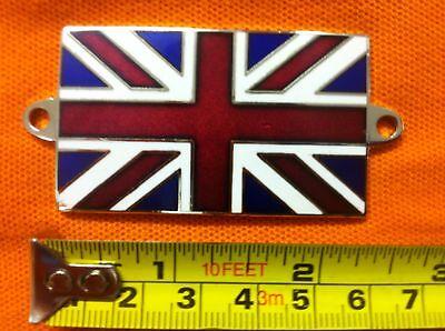 Morgan Union Jack Metal Enamel Badge Emblem
