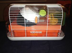 Hamster cage with everything you need