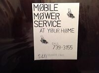 Lawnmower repairs and service
