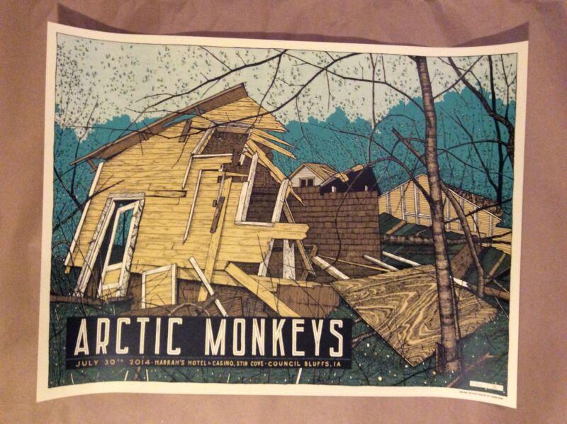 2014 Arctic Monkeys Poster Harrah