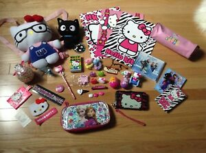 Hello Kitty & Frozen Item Lot