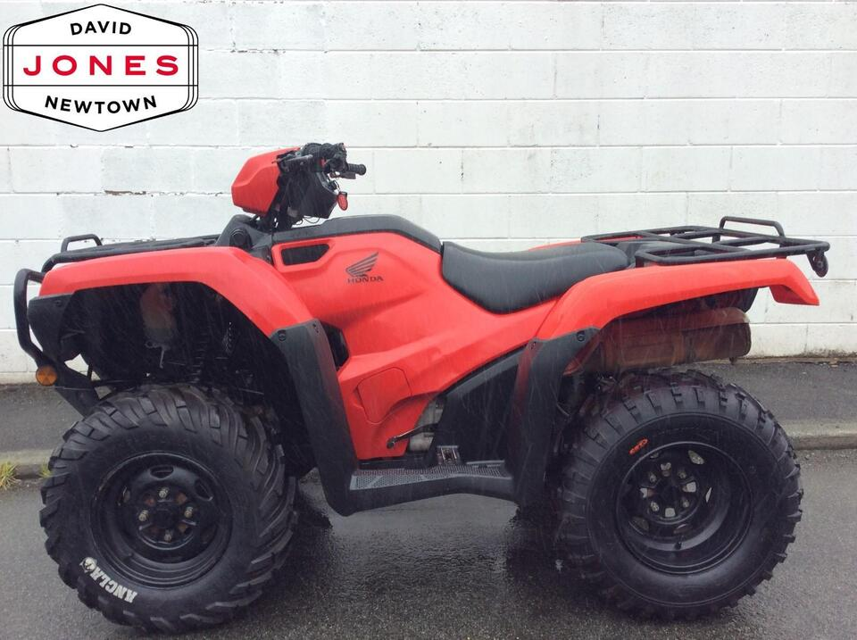2015 HONDA TRX500 FM MANUAL FOREMAN 4x2x4 4WD QUAD BIKE ATV FOUR WHEELER
