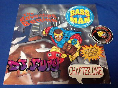 DJ Fury The Adventure Begins Chapter One Promo Poster Flat 12x12 Piranha Records
