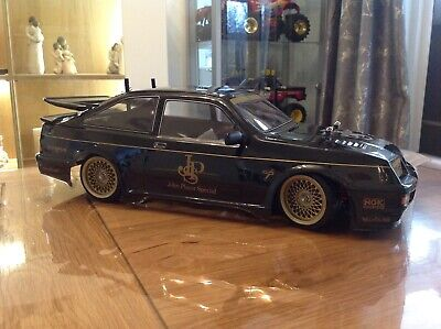 Stunning Tamiya TT-01 FORD SIERRA RS COSWORTH with many upgrades JPS Special.