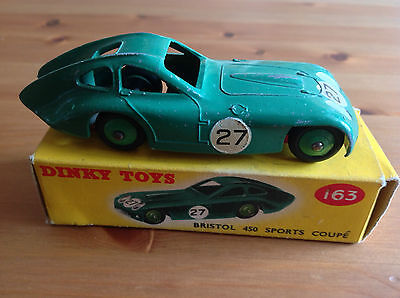 DINKY 143 BRISTOL 450 SPORTS COUPE ORIGINAL AND BOXED for sale  Shipping to Nigeria