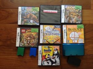 Nintendo 3DS with games and ID