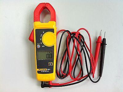 New!!! Fluke 302+ F302+ Digital Clamp Meter AC/DC Multimeter Tester w/ Case