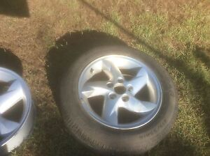 Falcon xr6 / xr8 wheels and tyres Redcliffe Redcliffe Area Preview
