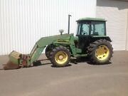 John Deere 2040S Tractor loader bucket forks Penrith Penrith Area Preview