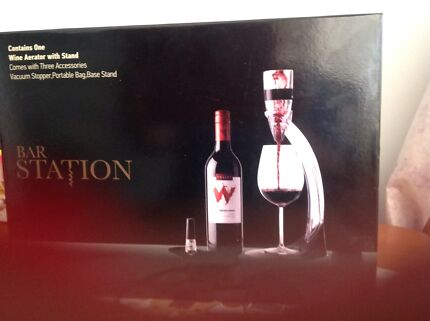 Wine aerator with stand  Point Vernon Fraser Coast Preview