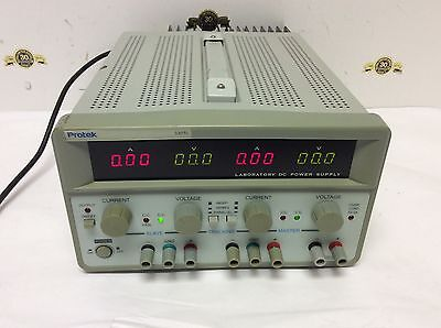 Protek 3305l Laboratory Dc Power Supply Triple Output Dual 0-30v5a Fixed 5v3a