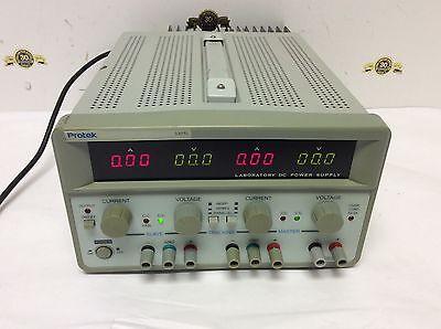 Protek 3305l Laboratory Dc Power Supply Triple Output Dual 0-30v5a Fixed 5v3a