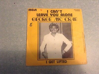 Disque vinyle 45 tours B2/george mc crae,i cant leave you alone