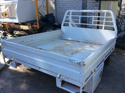 TOYOTA HILUX EXTRA CAB STEEL TRAY......SUIT 05....to 16 Underwood Logan Area Preview