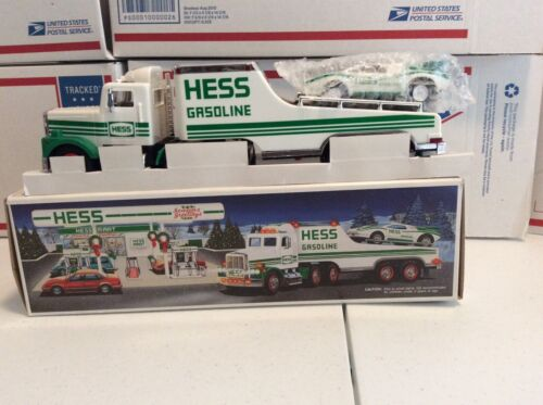 1991 Hess Toy Truck And Racer New In Box
