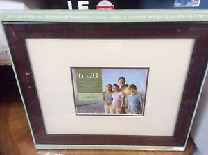 Different sized picture frames